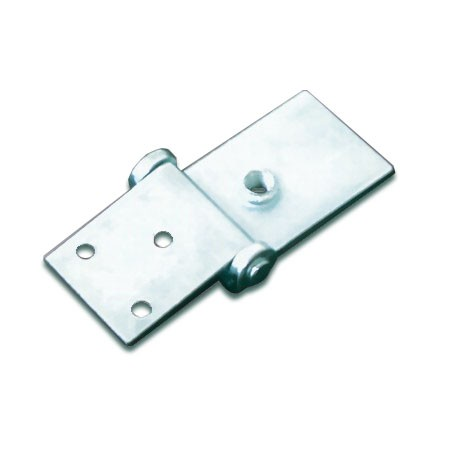 Hinge for playing field plate